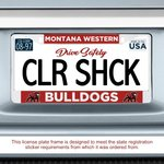 COLORSHOCK LICENSE PLATE COVER