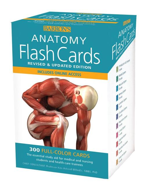 Barrons Anatomy Flashcards The University Of Montana Western Bookstore